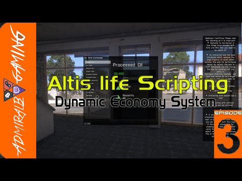 [HOWTO] Altis life Scripting Market System