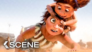 Hunting For Breakfast - THE CROODS Movie Clip (2013)