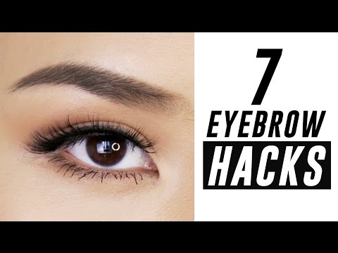 7 Eyebrow Hacks You Need To Know | Tina Yong