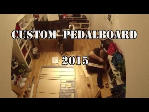 Custom Pedalboard Flightcase - White Tolex