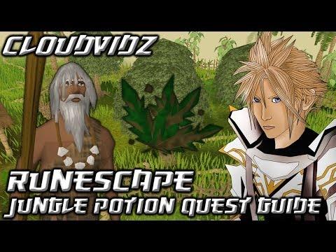 Runescape Jungle Potion Quest Guide HD