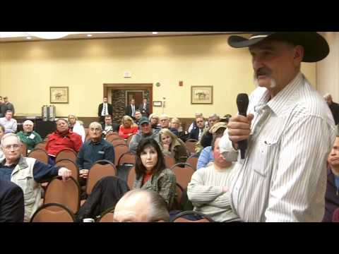 Mineral owner gives firsthand account of an oil company leaving his land to drill in another state