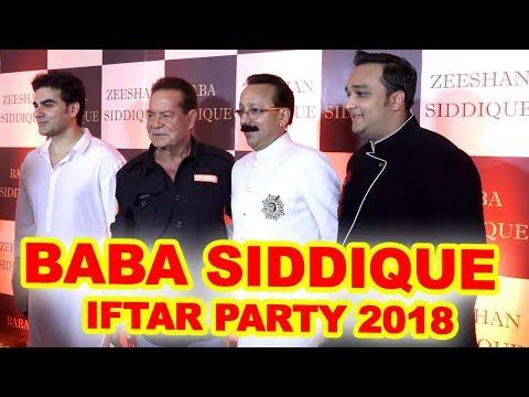 INSIDE Video : Baba Siddique IFTAR Party 2018   Salman Khan, Salim Khan, Arbaaz Khan
