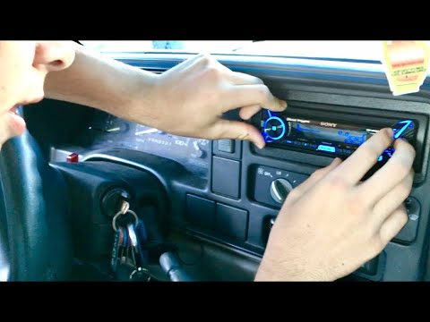 88 to 98 GM Truck Stereo Installation