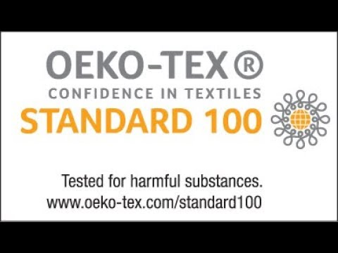 OEKO TEX CONFIDENCE - Building confidence with our customers!