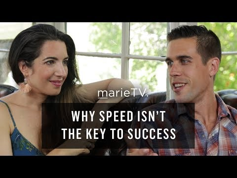 Ryan Holiday On Why Speed Isn't the Key to Success