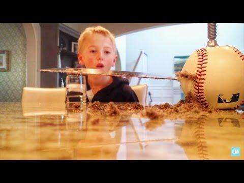 What's inside a Baseball?
