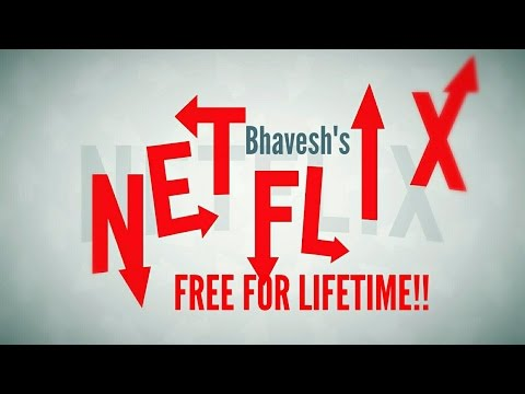 How to Get Netflix for Free!  (Without Credit Card) (Lifetime Hack) (March 2017)