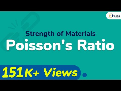 Poisson's Ratio - Stress and Strain - Strength of Materials