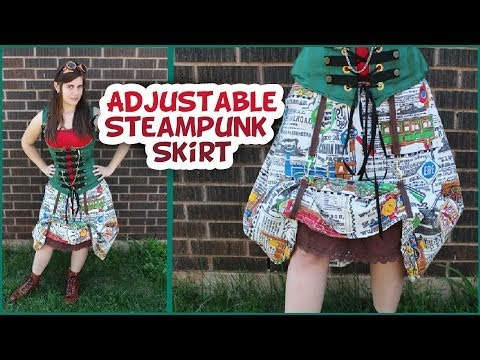 Transforming Steampunk Skirt How to - Whitney Sews