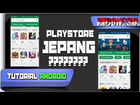 Cara Mengganti Playstore ke Negara Lain - Tutorial Android #61