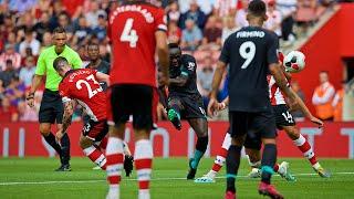 Southampton vs Liverpool | Mane's unstoppable strike into top corner