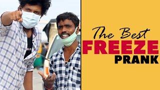 The Best Freeze Prank in Telugu | Latest Telugu Pranks | Pranks in Hyderabad 2020 | FunPataka