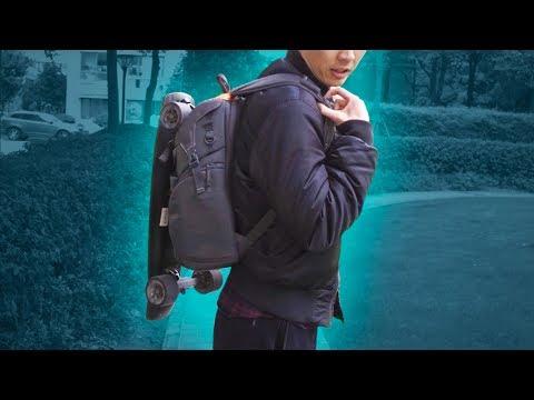 Skateboard Backpack Easy DIY with Lanyards