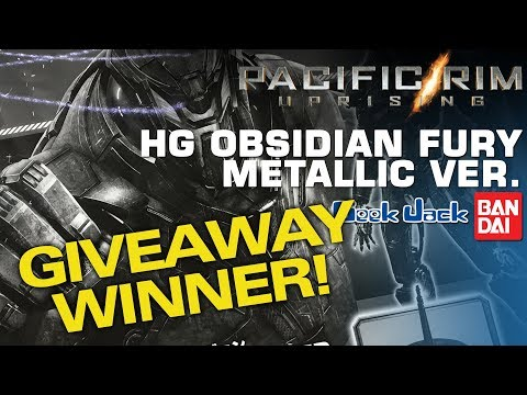 Bandai Obsidian Fury Giveaway WINNER &  Valkyrie Competition Update