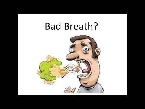 Halitosis | how to get rid of bad breath | gum disease
