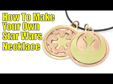 How to make your own Star Wars necklace (GIVEAWAY)