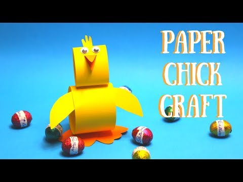 Paper Chick Craft | Easy Easter Crafts for Kids