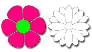 #x202b;تعلم  طريقة رسم وردة   ( 2 وردة )#x202c;lrm;