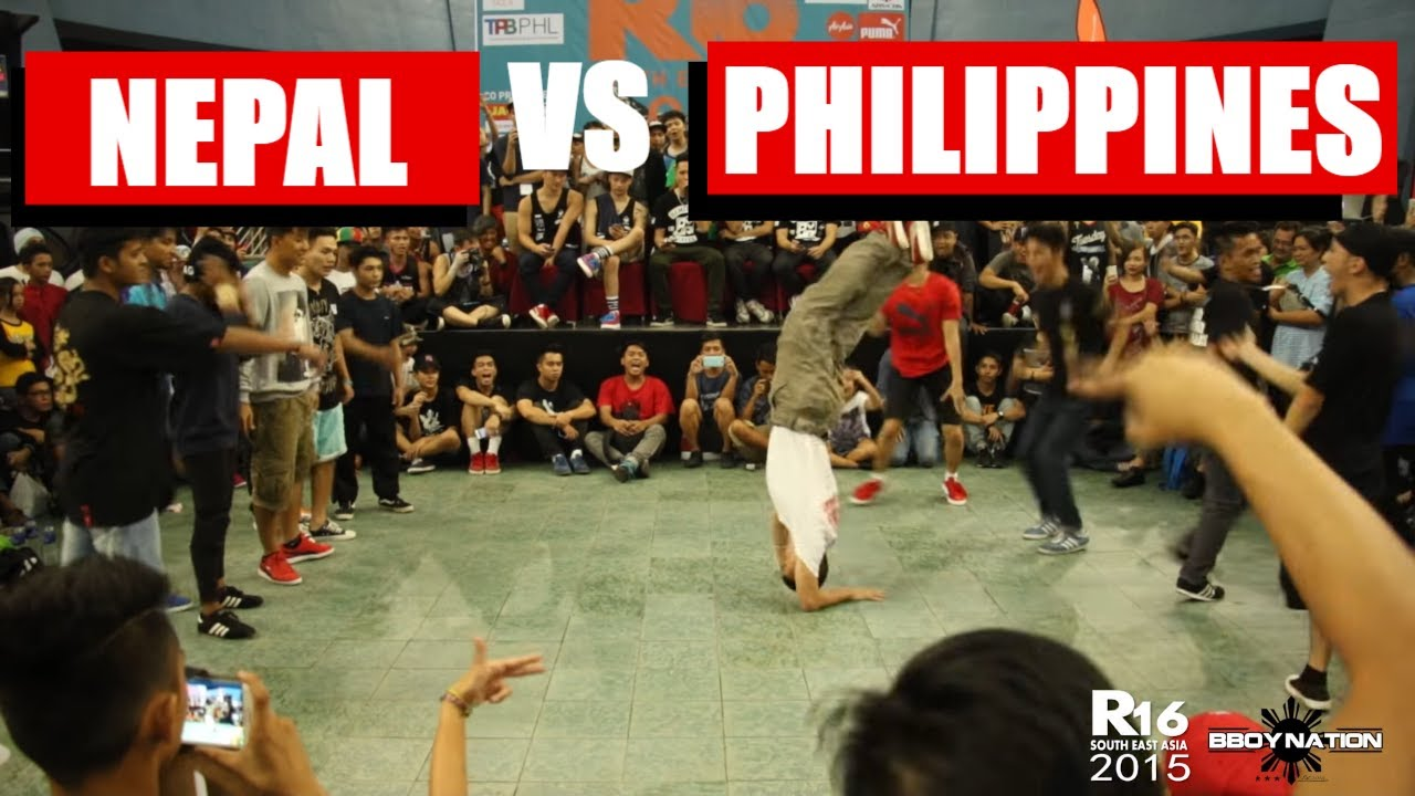 Nepal vs Philippines | Battle for Top 4 | Crew Battle | R16 South East Asia 2015 | Bboynation
