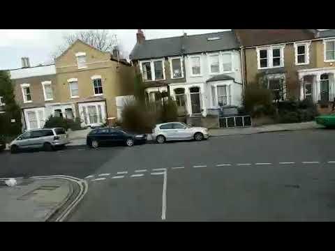 London bus route 425 Clapton Nightingale Road -  Stratford DN33794 (SN13 CHG)