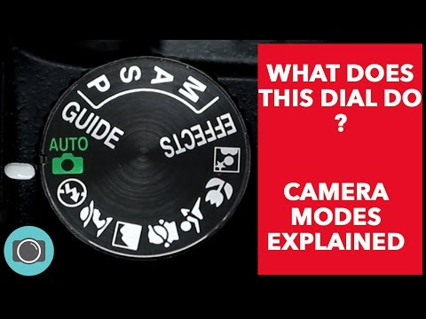 Canon, Nikon beginners start here. Camera modes explained - auto v manual modes