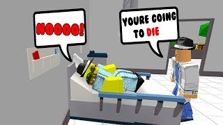 TAKING A TRIP TO THE HOSPITAL.. (Roblox Jailbreak Roleplay)