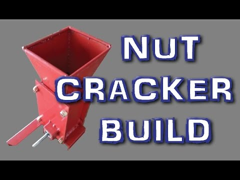 DIY Nut Cracker MACHINE walnuts pecans brazil nuts etc