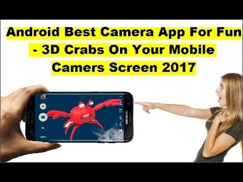 Android Best Camera App 2017 - How To Make Crabs 3D Camera Effect On Your Floor - Solving Techniques