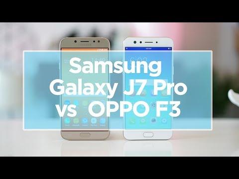 Samsung Galaxy J7 Pro vs. OPPO F3 Comparison Review