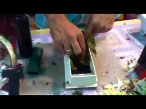 stuffed grape leaves making machine