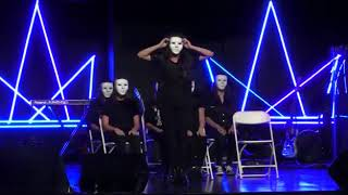 Bonecos de plástico - TDM CHURCH IN MALDEN MASSACHUSETTS (Teatro: Wake Up Drama)