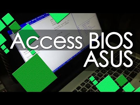 How to Access BIOS of Asus Laptops