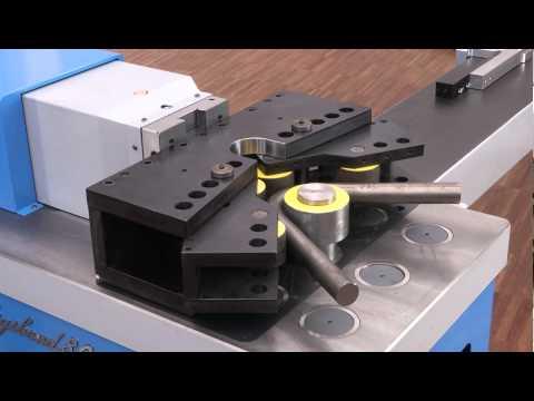 Bending machine - solid round bar bending