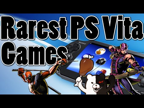 Top 5 Rarest PS Vita Games of All Time