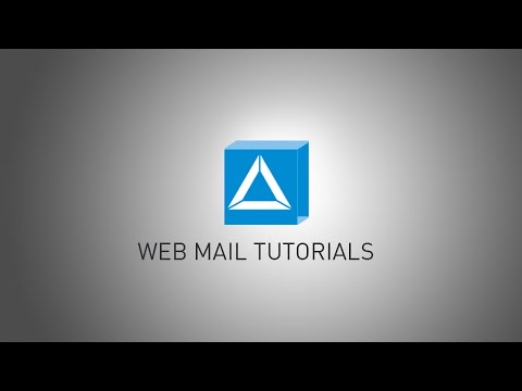 WEB MAIL Tutorials - How To Set Up Vacation Notice
