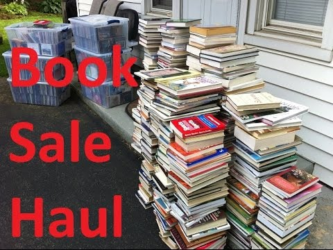 HUGE Book Sale Haul + Thrift Haul | Book Buying Strategies | How I Find So Many Books!