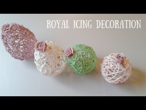 ROYAL ICING DECORATION Marzipan Candies