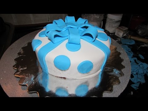 Fondant Recipe - How To Make Fondant Cake, Simple & Easy Fondant Cake by Geetika