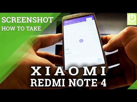 How to Taks Screenshot on XIAOMI Redmi Note 4 - Screenshot Tutorial