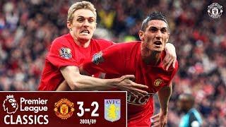 Premier League Classic | Manchester United 3-2 Aston Villa | 2008/09 | Macheda debut goal