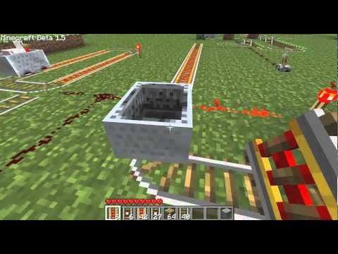 Minecraft - Powered & Detector Rails - 1.5 Beta Update