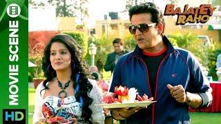 Ravi Kishan flirts with Vishakha Singh | Bajatey Raho