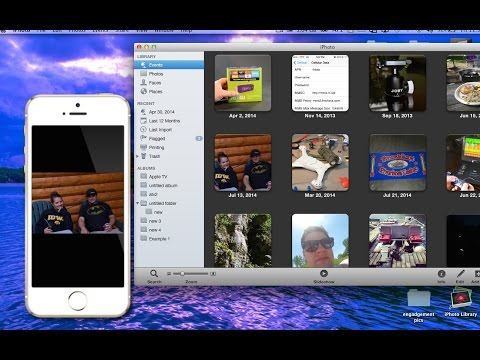 Transfer pictures from Mac to iPhone, iPad, or iPod