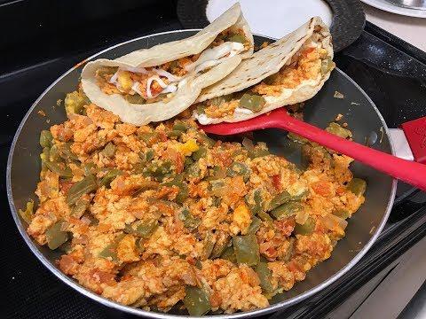 Quesadillas/Tacos con Nopales Guisados 🌵🔴