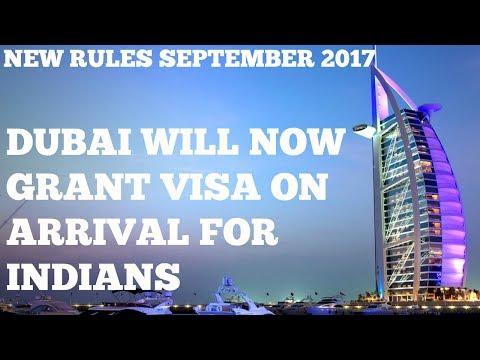 NEW VISA RULE 2017 ! INDIAN PASSPORT HOLDER TO GET VISA ON ARRIVAL IN DUBAI | EPISODE 17| HINDI