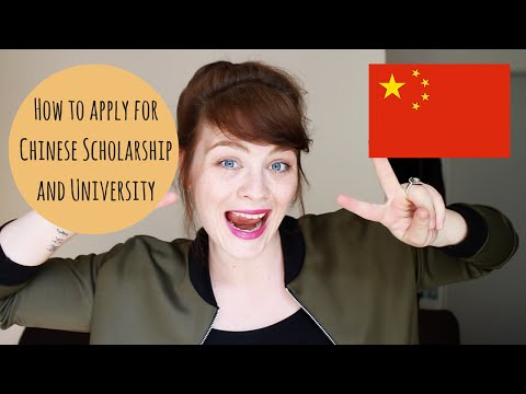How to apply for Chinese Scholarship and University (China) // 怎么申请中国奖学金和中国大学