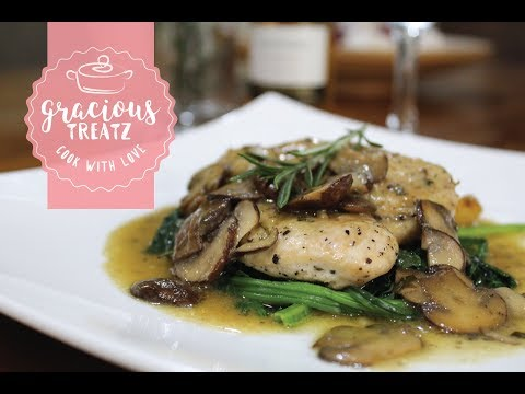 Rosemary Chicken with Portobello Mushrooms Recipe