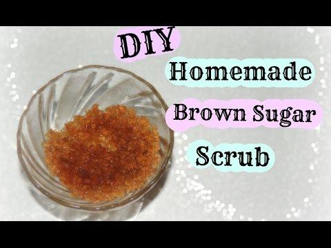DIY Brown sugar scrub-For Face,Body & Lips-Easy to make