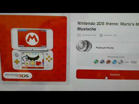 Kintips Giveaway Nintendo 3DS theme Mario Mighty Mustache LAST ONE!